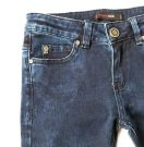sky soft denim dark blue detail